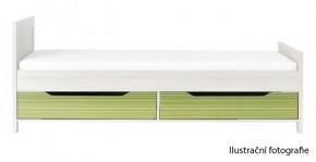 Monza - úl. prostor pod postel, CD 16 (višeň cornvall, zelená)