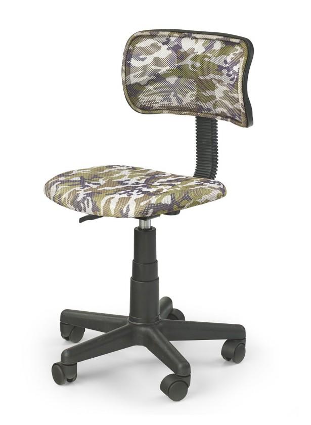 Moro - dětská židle (zeleno-černá)