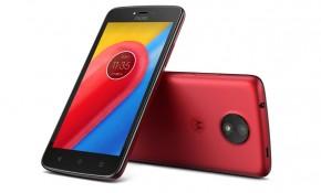 Moto C 4G Red + bohaté příslušenství