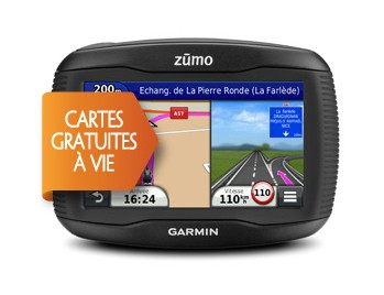 Moto navigace Garmin zumo 390LM Lifetime PLUS
