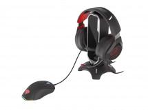 Mouse Bungee Genesis Vanad 500 + hub 2x USB Typ-A