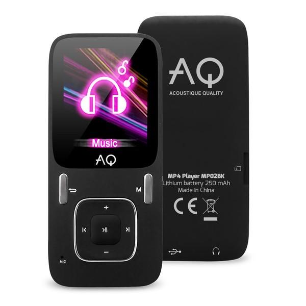 MP3, MP4 přehrávače,discmany AQ MP02