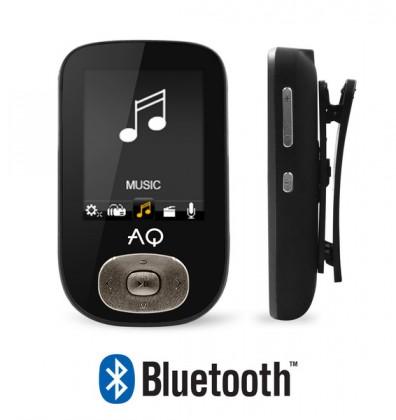 MP3, MP4 přehrávače,discmany AQ MP03 černá