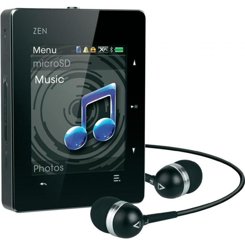 MP3, MP4 přehrávače,discmany Creative ZEN X-Fi3 8GB ROZBALENO