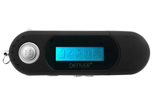 MP3, MP4 přehrávače,discmany Denver MP-4014