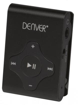 MP3, MP4 přehrávače,discmany Denver MPS-409C 4 GB black