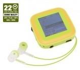 MP3, MP4 přehrávače,discmany Emgeton CULT X9 4GB Silver/green, 22h, 1.5TFT LCD display BAZAR