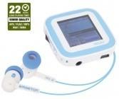 MP3, MP4 přehrávače,discmany Emgeton CULT X9 4GB White/Blue ROZBALENO