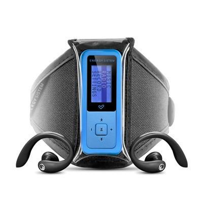 MP3, MP4 přehrávače,discmany Energy Sistem 1602 Sport / 2GB (Electric Blue)