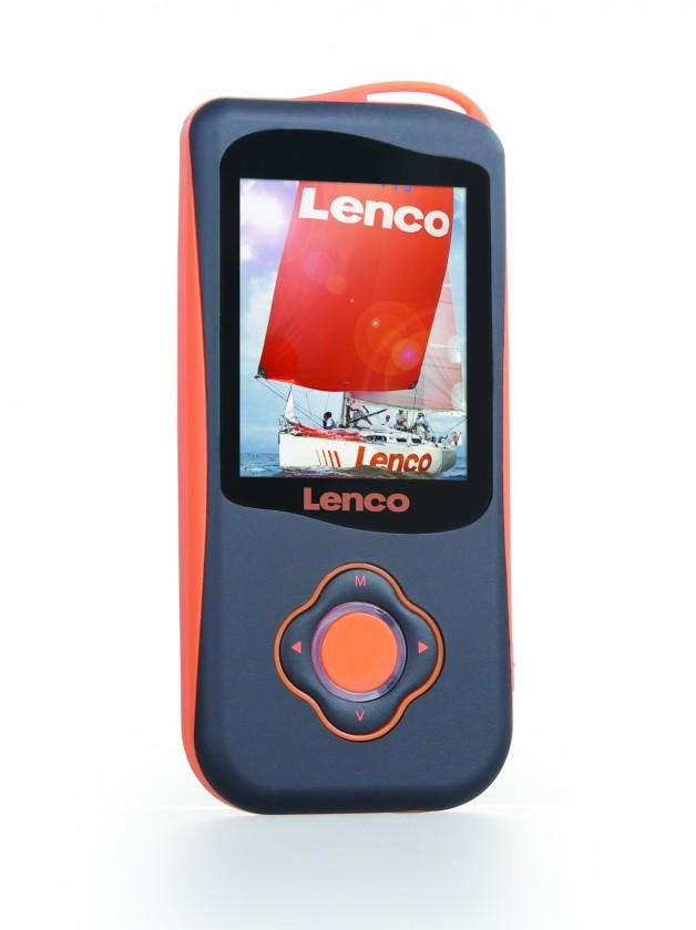 MP3, MP4 přehrávače,discmany LENCO PODO 151 MP4 + krokomer