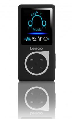 MP3, MP4 přehrávače,discmany Lenco Xemio-657, černý