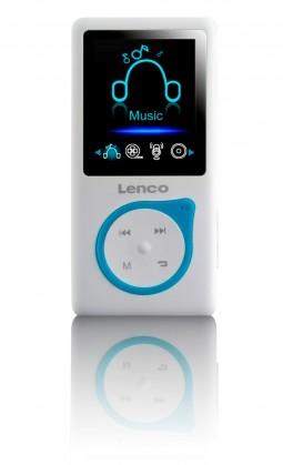 MP3, MP4 přehrávače,discmany Lenco Xemio-657, modrý