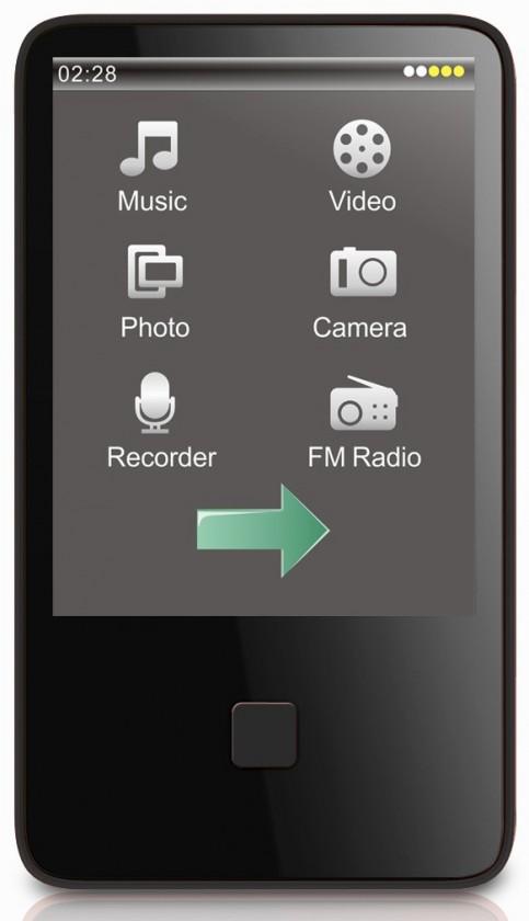 MP3, MP4 přehrávače,discmany MP Man BT 29 8GB ROZBALENO