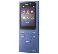 MP3, MP4 přehrávače,discmany MP3 přehrávač Sony NW-E394 8 GB, modrý