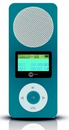 MP3, MP4 přehrávače,discmany MPman FIESTA2 2GB Blue ROZBALENO