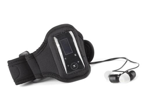 MP3, MP4 přehrávače,discmany NGS MP3 přehrávač AQUA/ 2GB/ FM rádio/ voděodolný/ černý