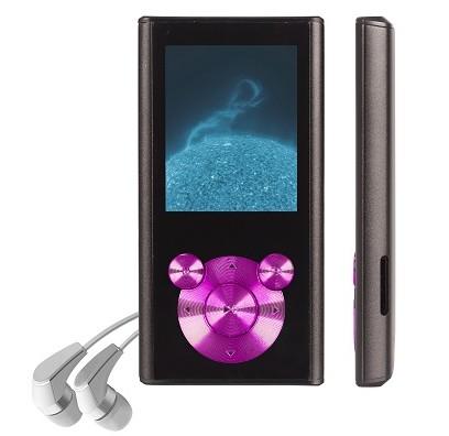 MP3, MP4 přehrávače,discmany Orava M-4G 4 GB, růžová