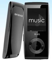 MP3, MP4 přehrávače,discmany Orava M-8G 8GB ROZBALENO