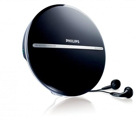 MP3, MP4 přehrávače,discmany Philips EXP2546