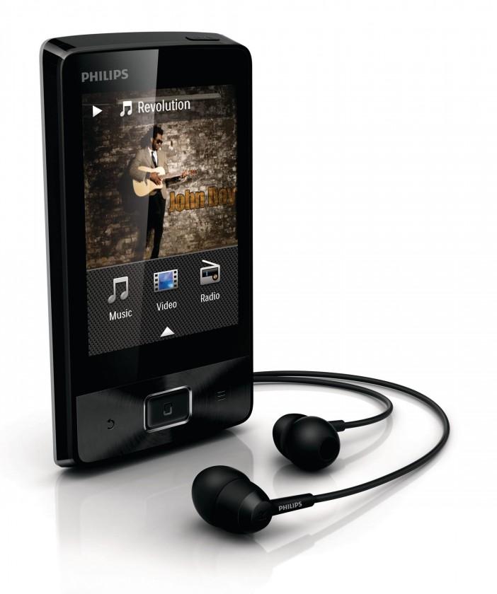 MP3, MP4 přehrávače,discmany Philips Muse SA4MUS16KF 16GB, (SA4MUS16KF/12)