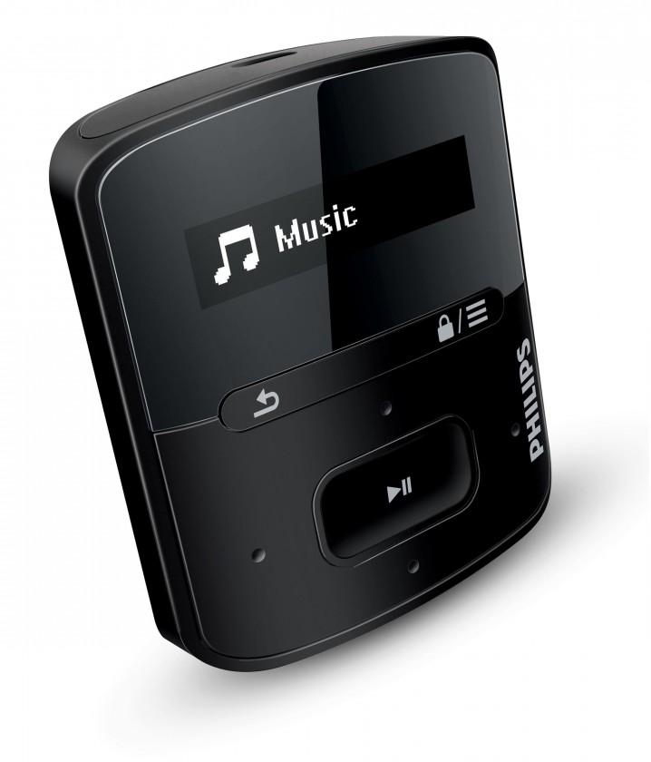 MP3, MP4 přehrávače,discmany Philips SA4RGA02KN