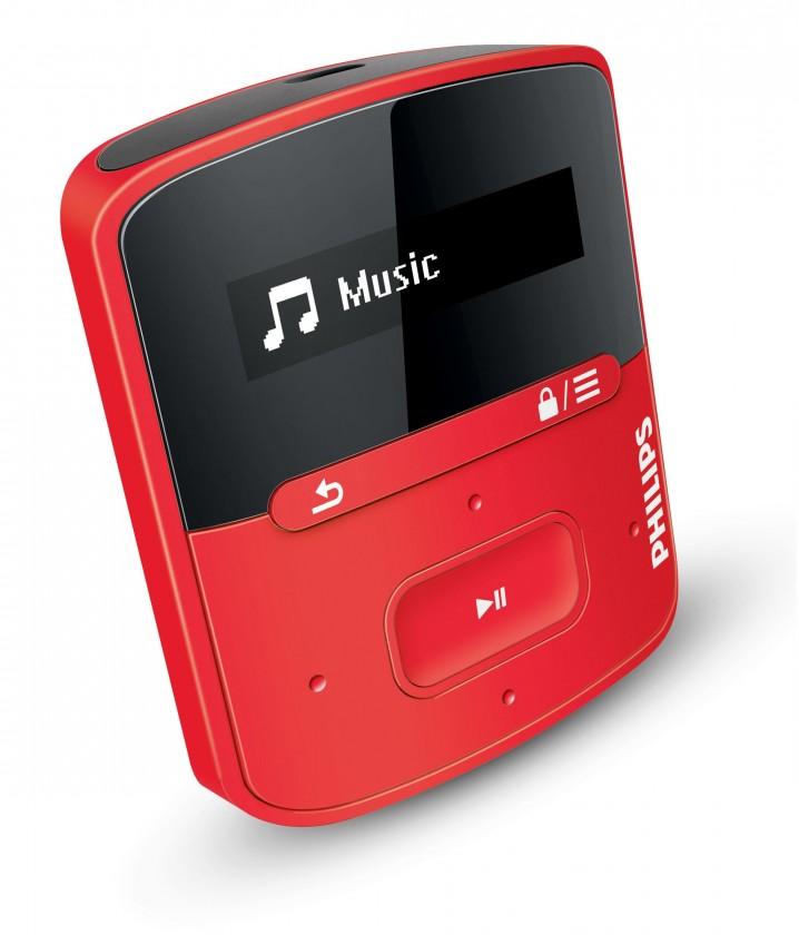 MP3, MP4 přehrávače,discmany Philips SA4RGA04RF