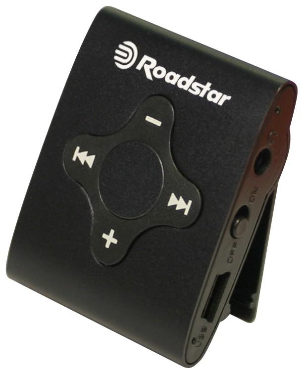 MP3, MP4 přehrávače,discmany Roadstar MP425 4 GB, černá