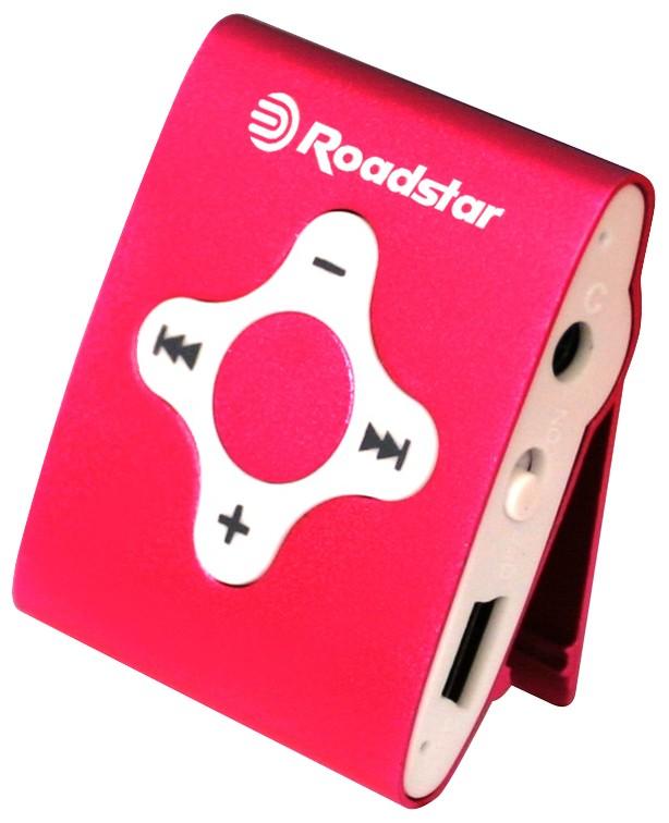 MP3, MP4 přehrávače,discmany Roadstar MP425 4 GB, růžová