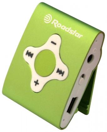 MP3, MP4 přehrávače,discmany Roadstar MP425 4 GB, zelená