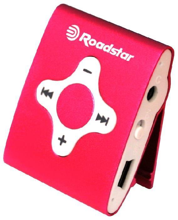 MP3, MP4 přehrávače,discmany Roadstar MP425PK pink ROZBALENO
