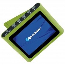 MP3, MP4 přehrávače,discmany Roadstar MP450, Green, 4GB ROZBALENO