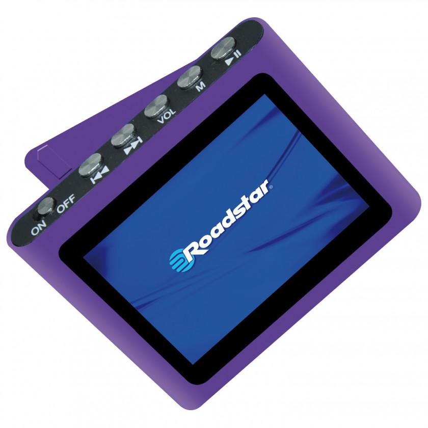 MP3, MP4 přehrávače,discmany Roadstar MP450, Purple, 4GB