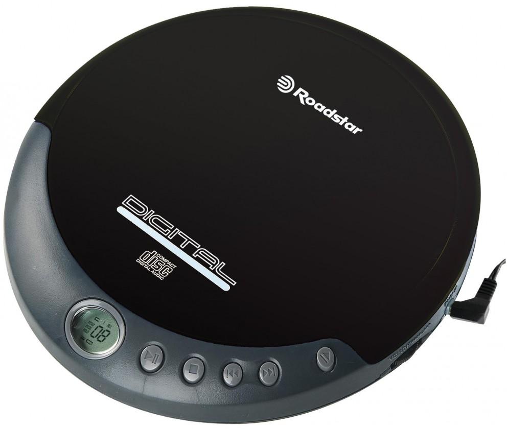 MP3, MP4 přehrávače,discmany Roadstar PCD-290/BK