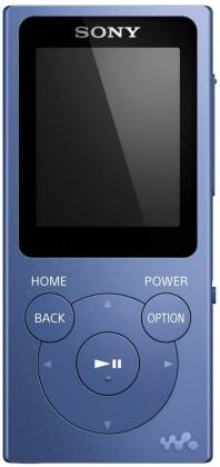 MP3, MP4 přehrávače,discmany Sony NW-E394 8 GB, modrá