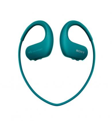 MP3, MP4 přehrávače,discmany Sony NW-WS413 4 GB, modrá
