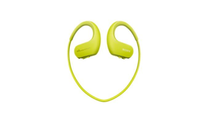 MP3, MP4 přehrávače,discmany Sony NW-WS413 4 GB, zelená