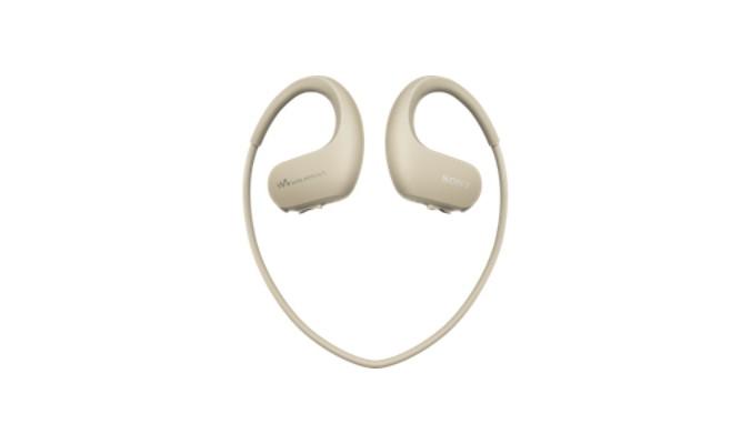 MP3, MP4 přehrávače,discmany Sony NW-WS413 4GB, šedá