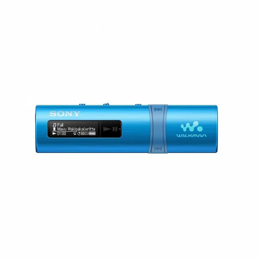 MP3, MP4 přehrávače,discmany Sony NWZ-B183F 4 GB, modrá