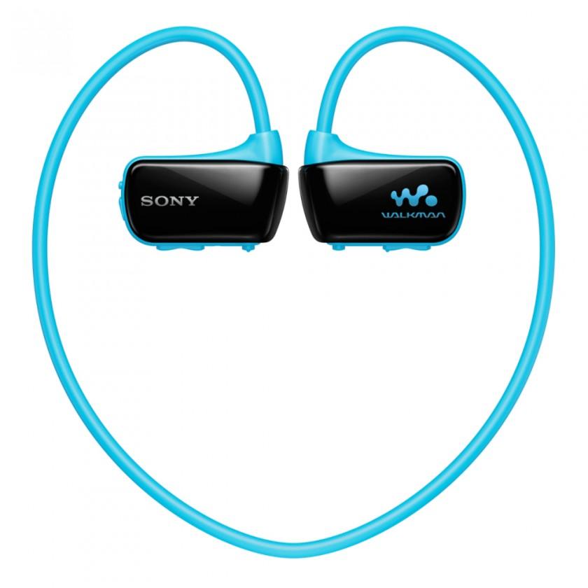 MP3, MP4 přehrávače,discmany Sony NWZ-W273SL / 4 GB (Blue)