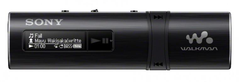 MP3, MP4 přehrávače,discmany Sony WALKMAN NWZ-B183B černý (NWZB183B.CEW)