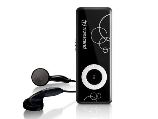 MP3, MP4 přehrávače,discmany Transcend MP300 8GB