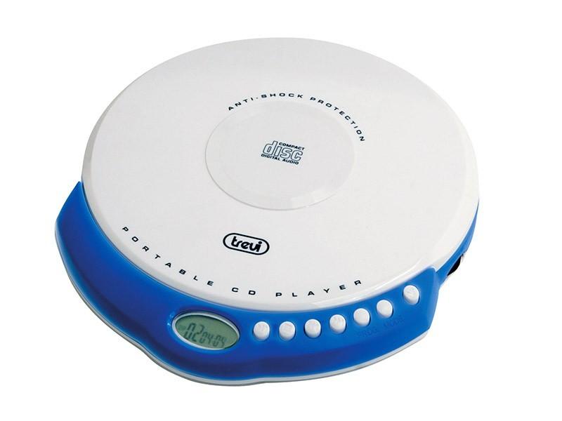 MP3, MP4 přehrávače,discmany Trevi CMP 498/WH