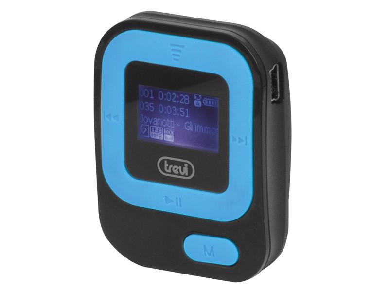 MP3, MP4 přehrávače,discmany Trevi MPV 1705, modrá