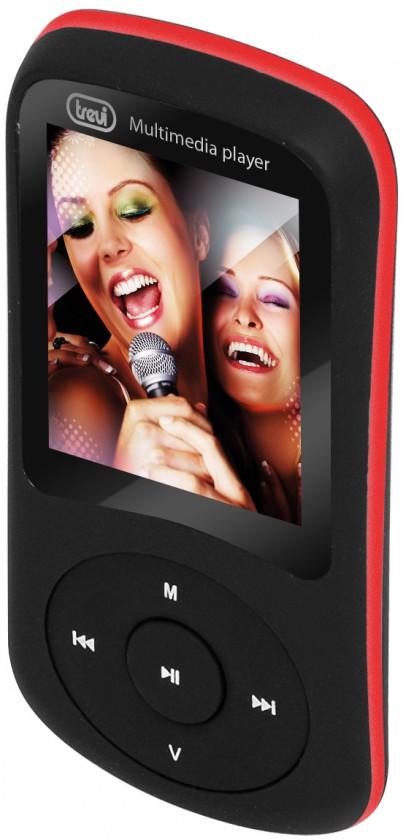 MP3, MP4 přehrávače,discmany Trevi MPV 1730SD, černá