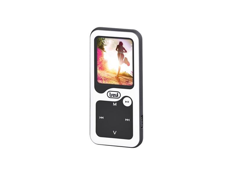 MP3, MP4 přehrávače,discmany Trevi MPV 1780 8 GB, bílá