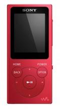 MP3 přehrávač Sony NW-E394 8 GB, červený