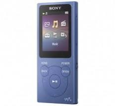 MP3 přehrávač Sony NW-E394 8 GB, modrý