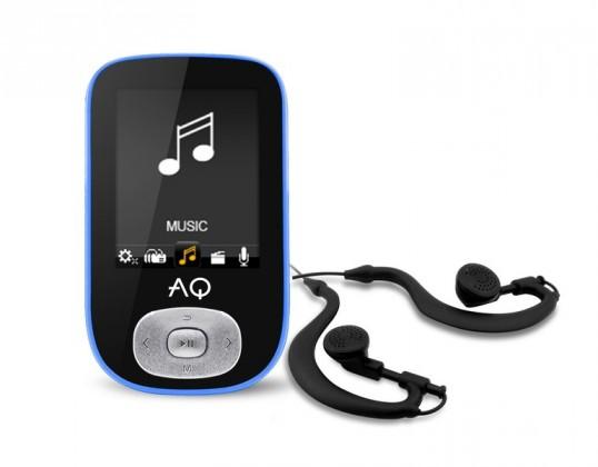 MP4 přehrávače AQ MP03 modrá