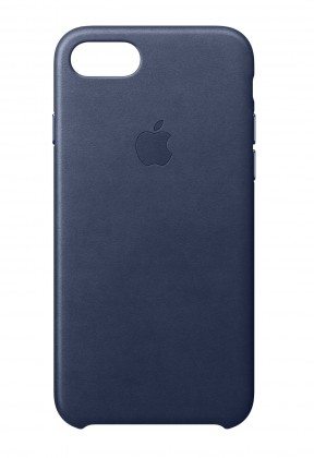 MQH82ZM/A Apple iPhone 8 / 7 Kožený Obal - Midnight Blue