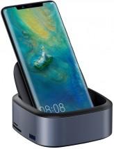 Multifunční hub Baseus pro mobilní telefony s Type C, šedá POUŽIT